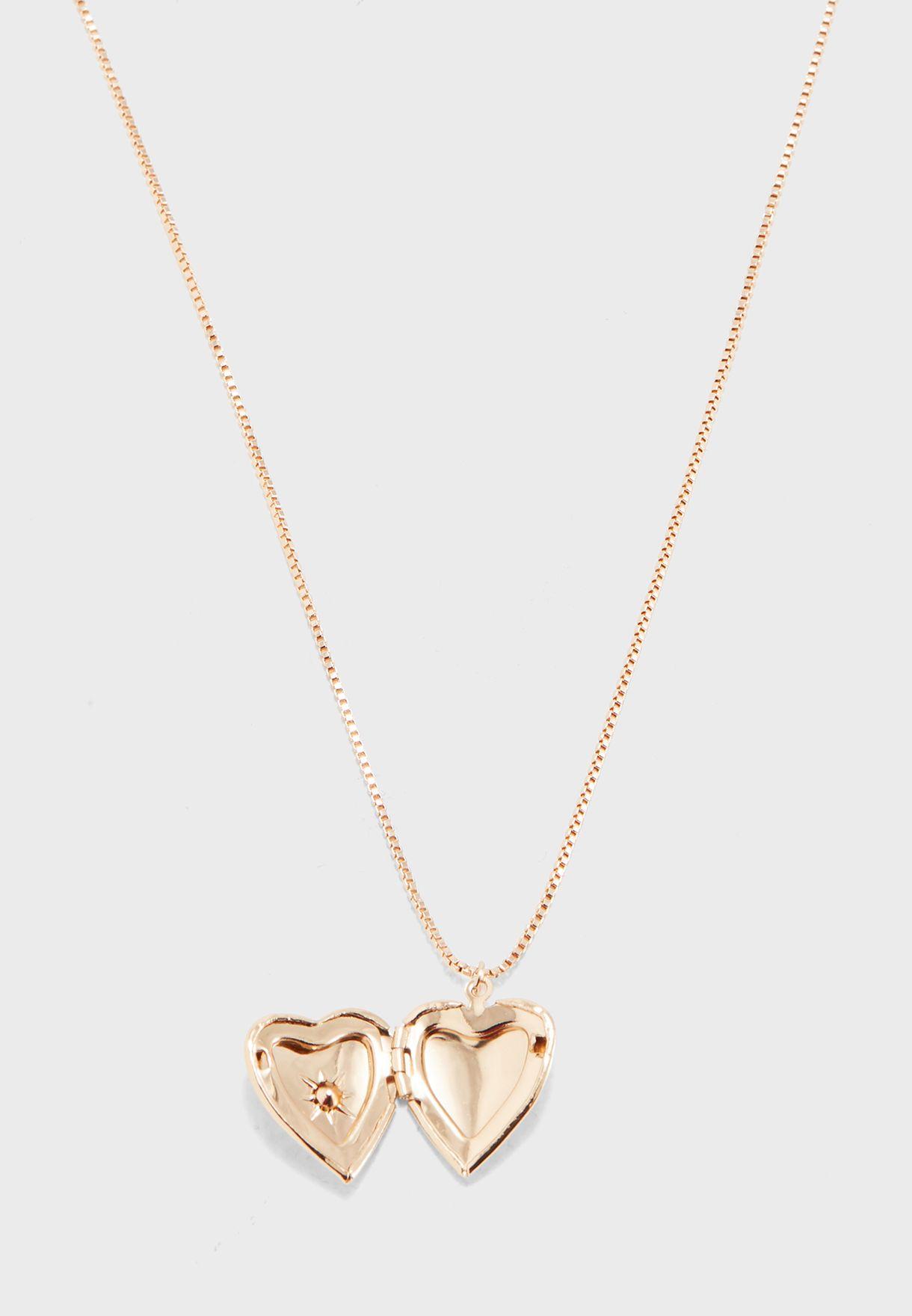 04e365da5 Shop Aldo gold Cadilaclya Necklace CADILACLYA72 for Women in UAE ...