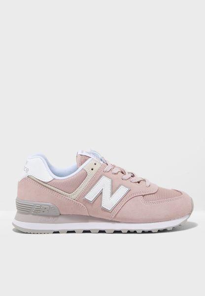 new balance wi 574 beige pink