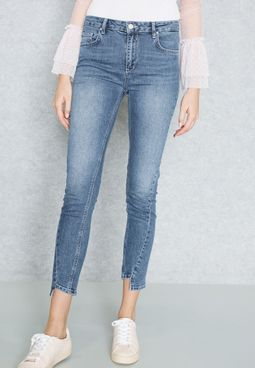 Detailed  Skinny Jeans