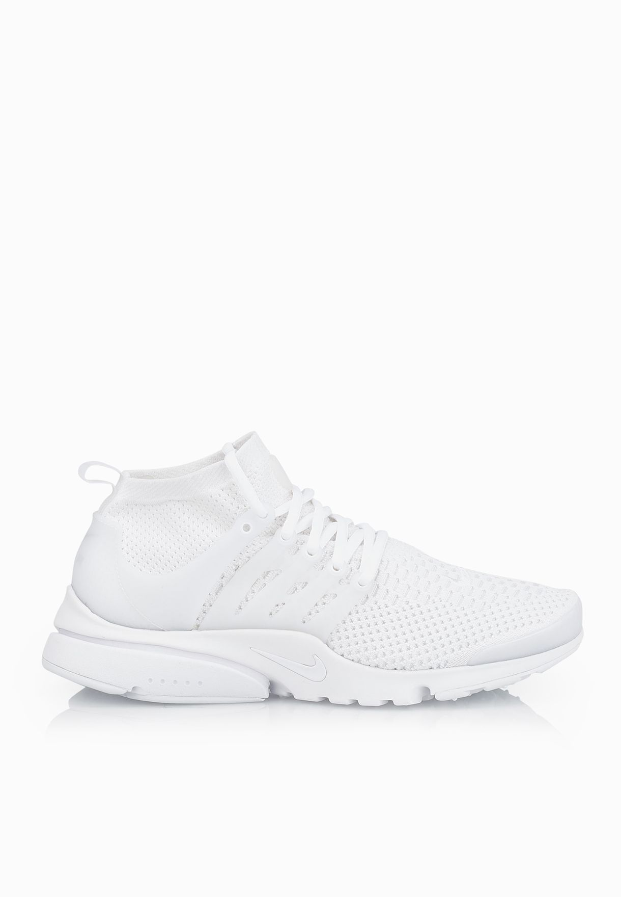 Shop Nike white Air Presto Flyknit Ultra 835570-100 for Men in UAE ... 7fee7f7878