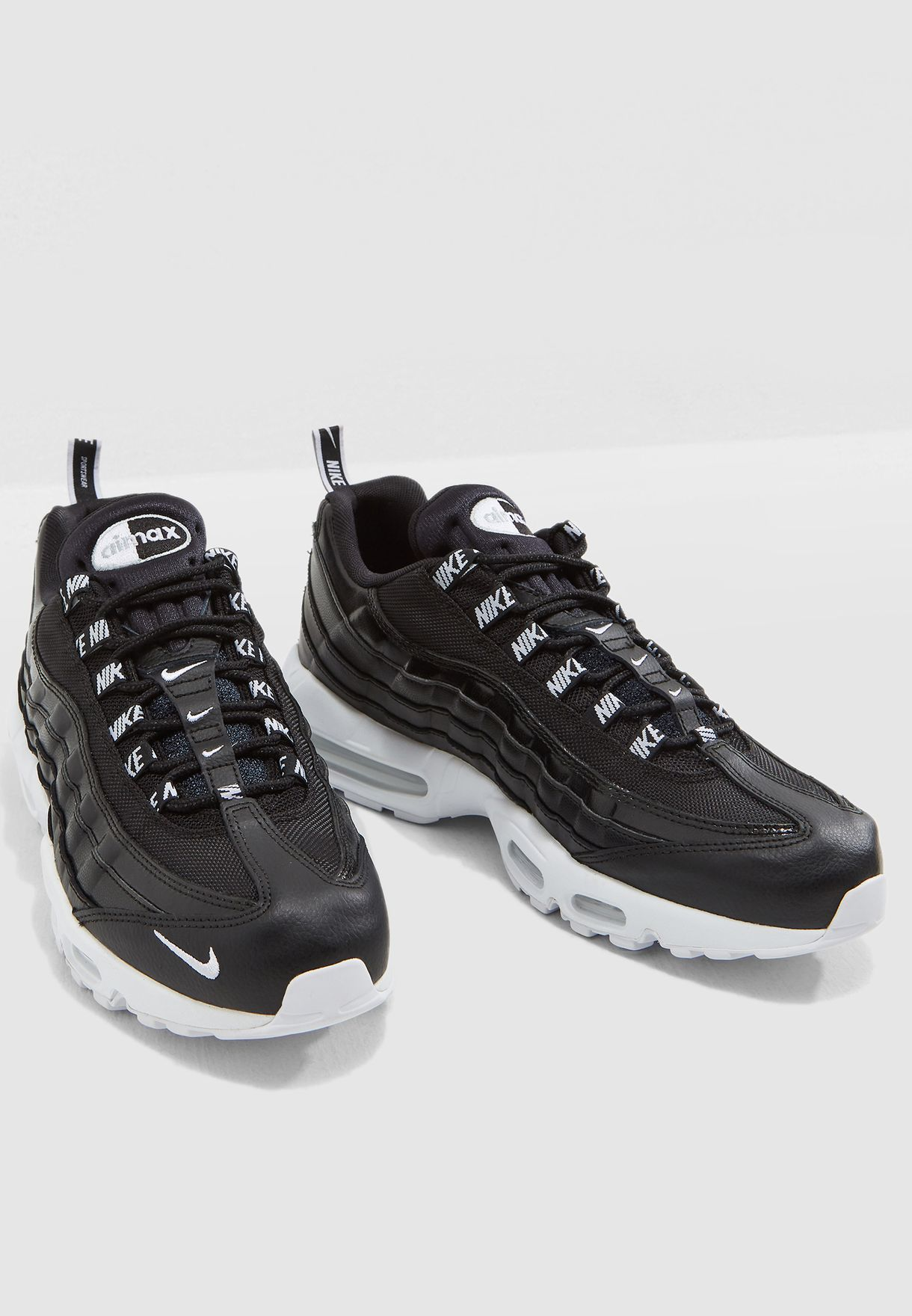 58a4c47d83d7f Shop Nike black Air Max 95 PRM 538416-020 for Men in UAE - NI727SH18DFX