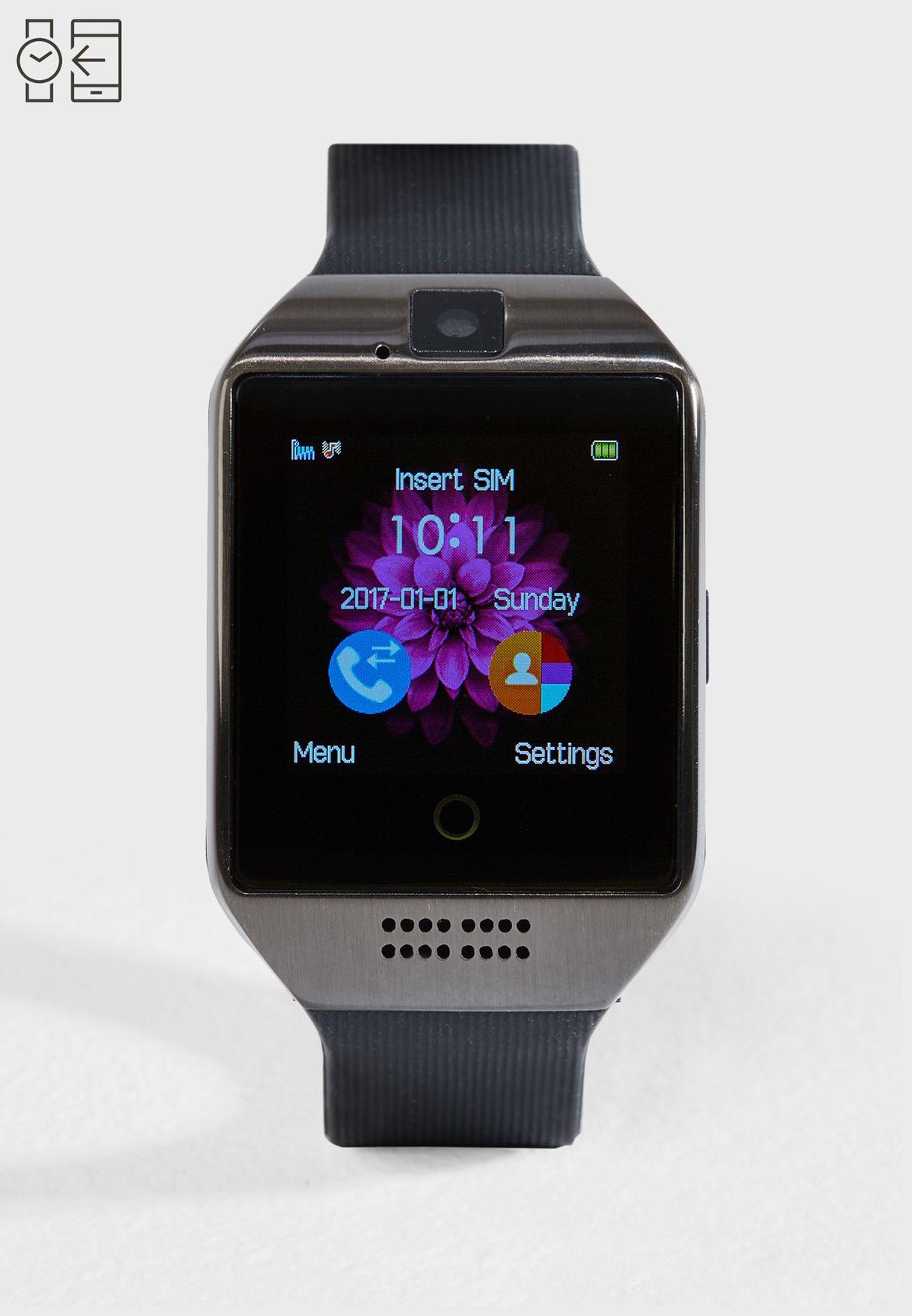 Smart Silicon Strap  Watch
