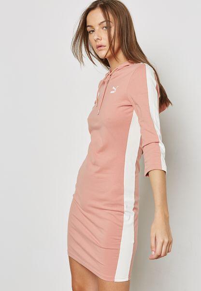 T7 Hooded Dress
