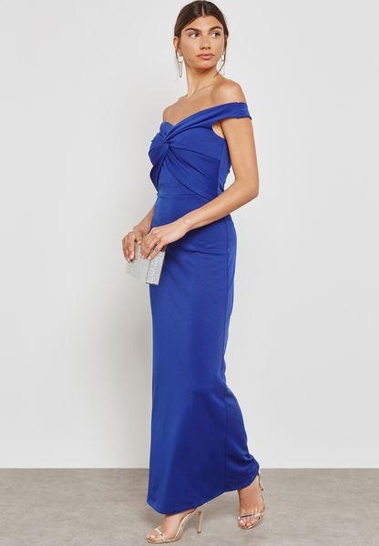 Scuba Maxi Dress