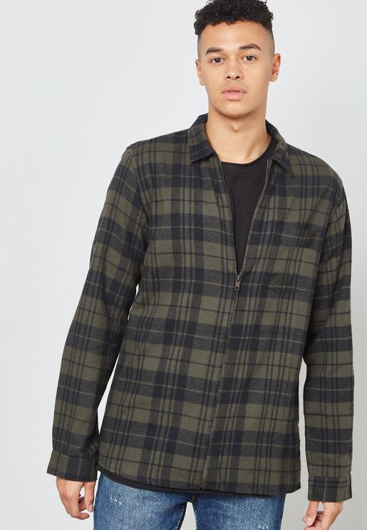 Hardy Check Print Shirt