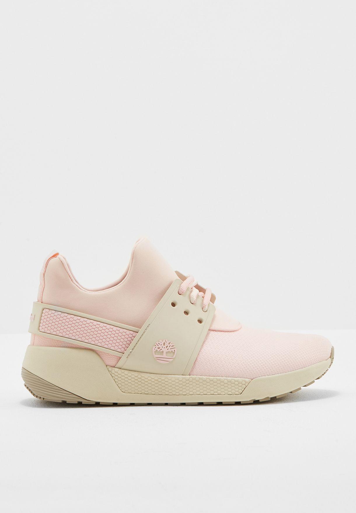 fc62c13c721 Shop Timberland pink Kiri Up Knit PU Oxford TMA1MMPW for Women in ...