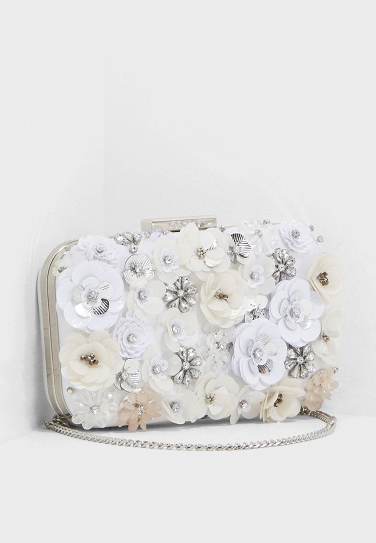 681682431e8 Shop Aldo white Daromara Clutch DAROMARA71 for Women in Qatar - AL729AC18LWB