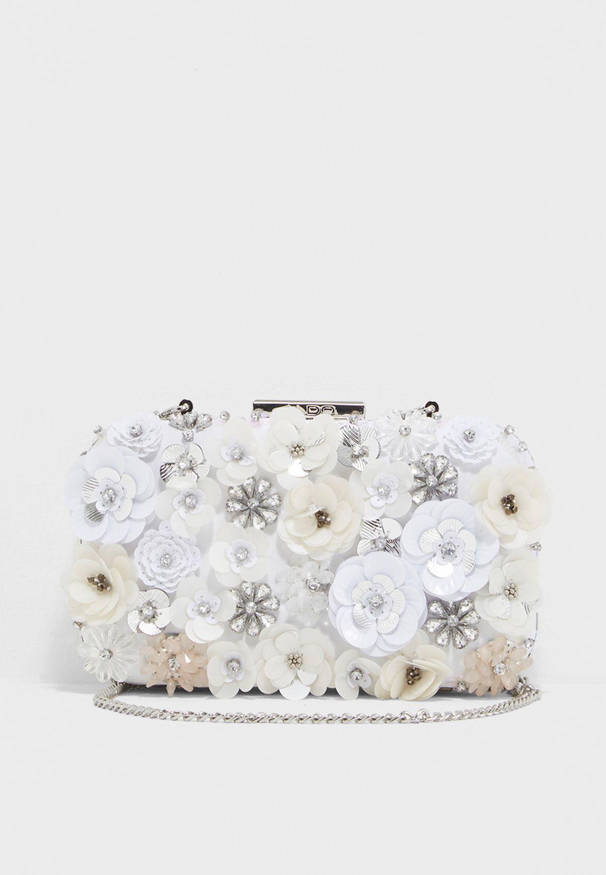 824ebe01cb9 Shop Aldo white Daromara Clutch DAROMARA71 for Women in Qatar ...