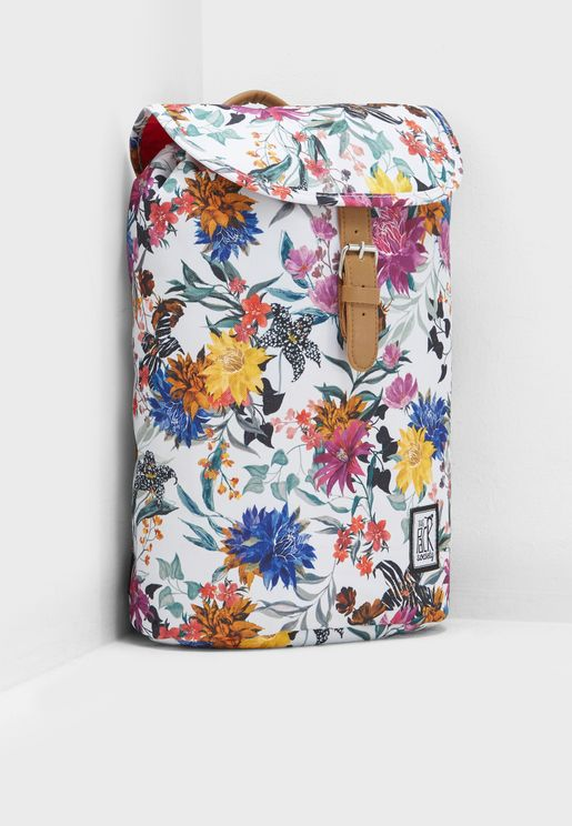 Small Flower Allover Backpack