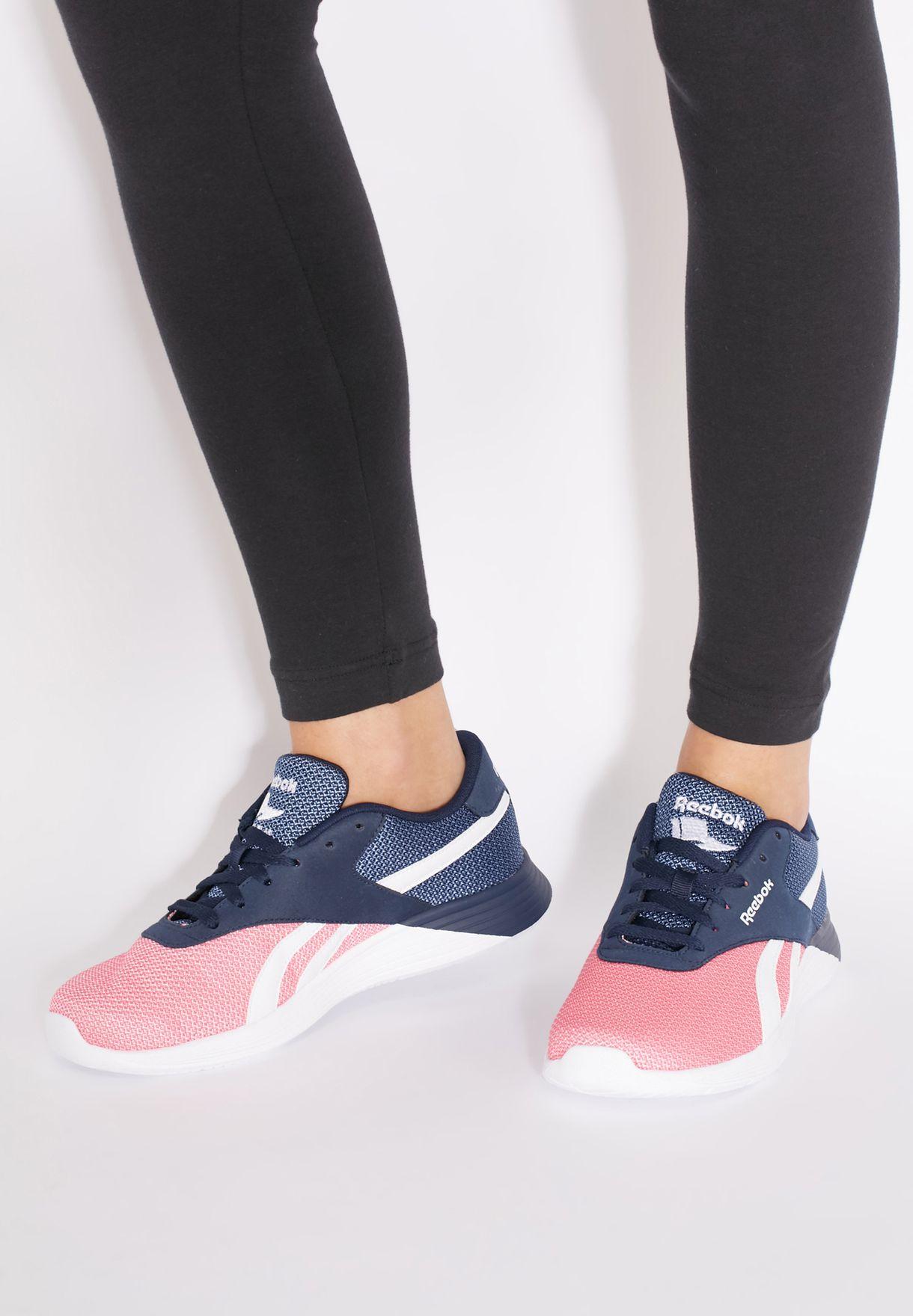 Womens Reebok Royal EC Ride FS Trainers MemoryTech Violet \ Pink UK Size 6.5 NEW