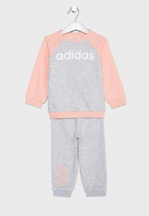 Infant Linear Fleece Set