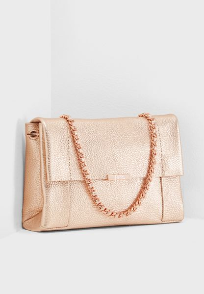 Leather Parson Unlined Crossbody