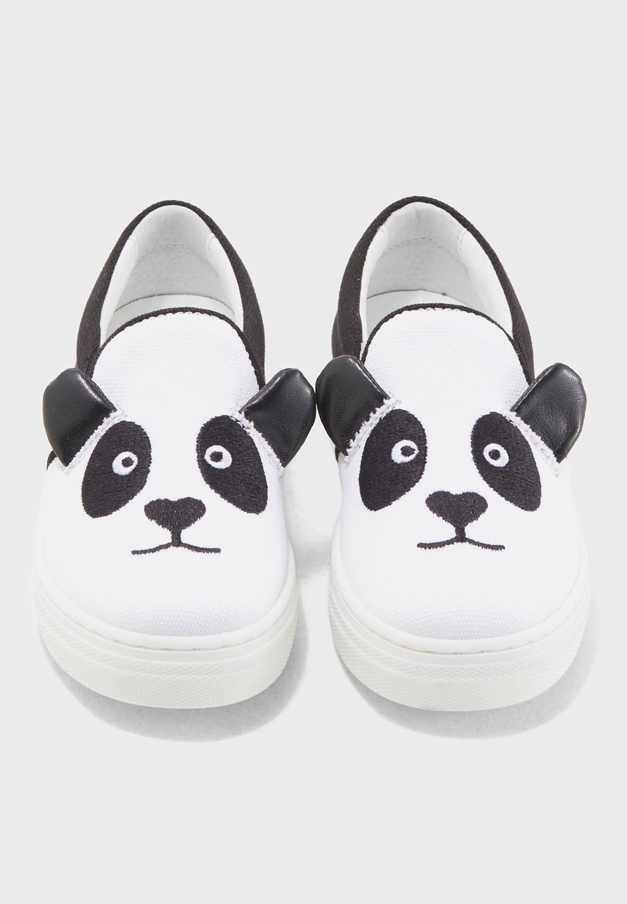 Youth Panda Slip On