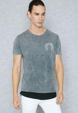 Crooked Printed T-Shirt