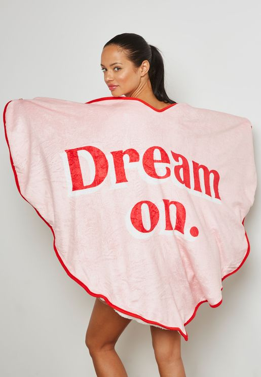 Dream On Heart Blanket