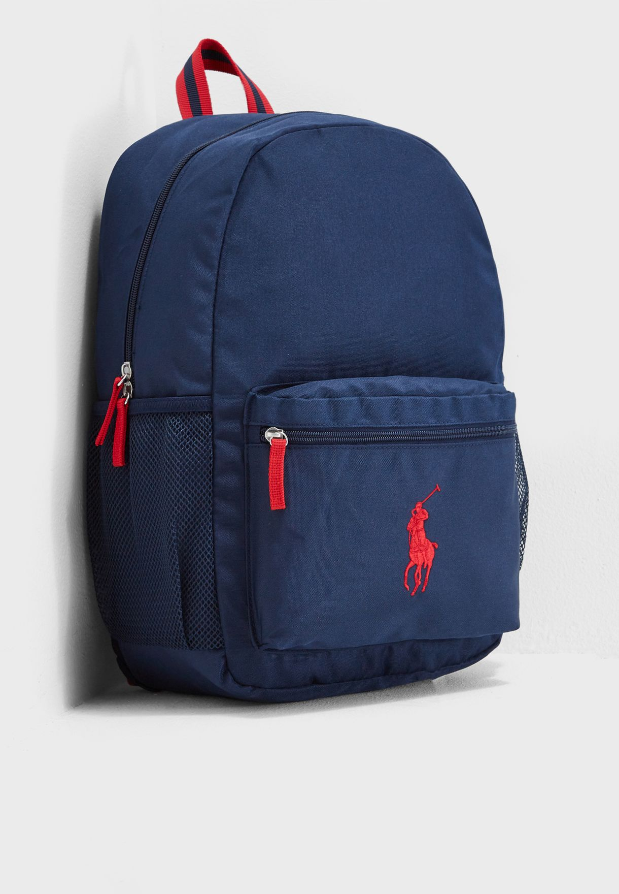 Shop Polo Ralph Lauren navy Kids Large Academy Backpack RA100123 for Kids  in Saudi - PO013AC18MXX 357cc1f4bf683