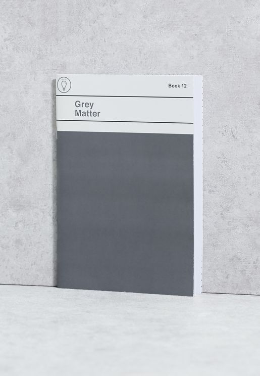 A5 Grey Matter Notebook