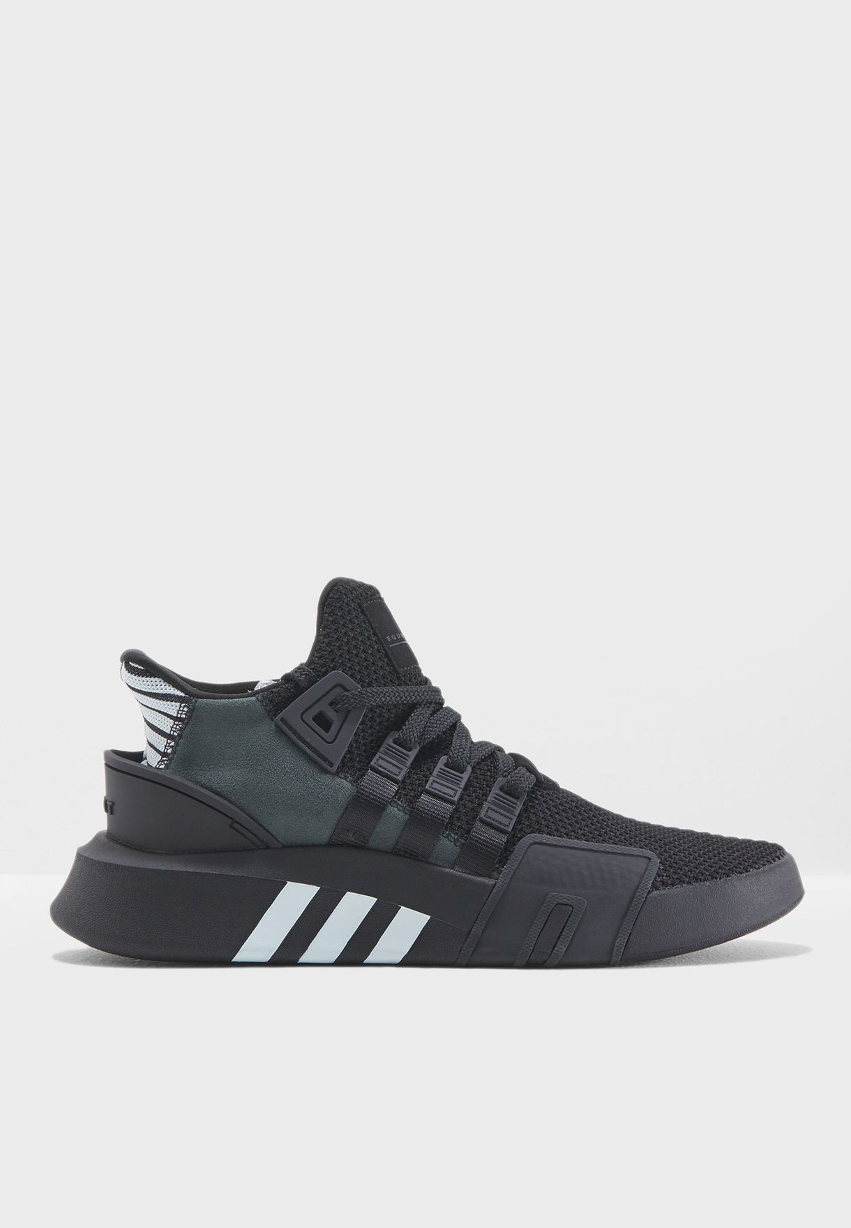 Shop adidas Originals black EQT Bask ADV CQ2991 for Men in UAE ... c1595ababd