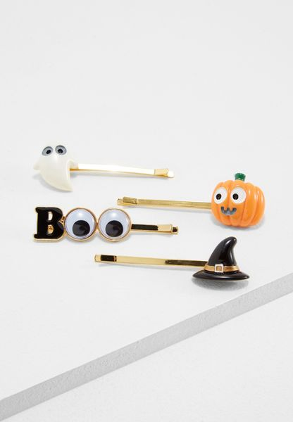 Little Halloween Icon Bobby Pins