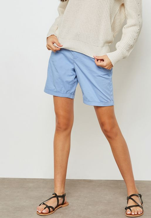 Rolled Up Shorts