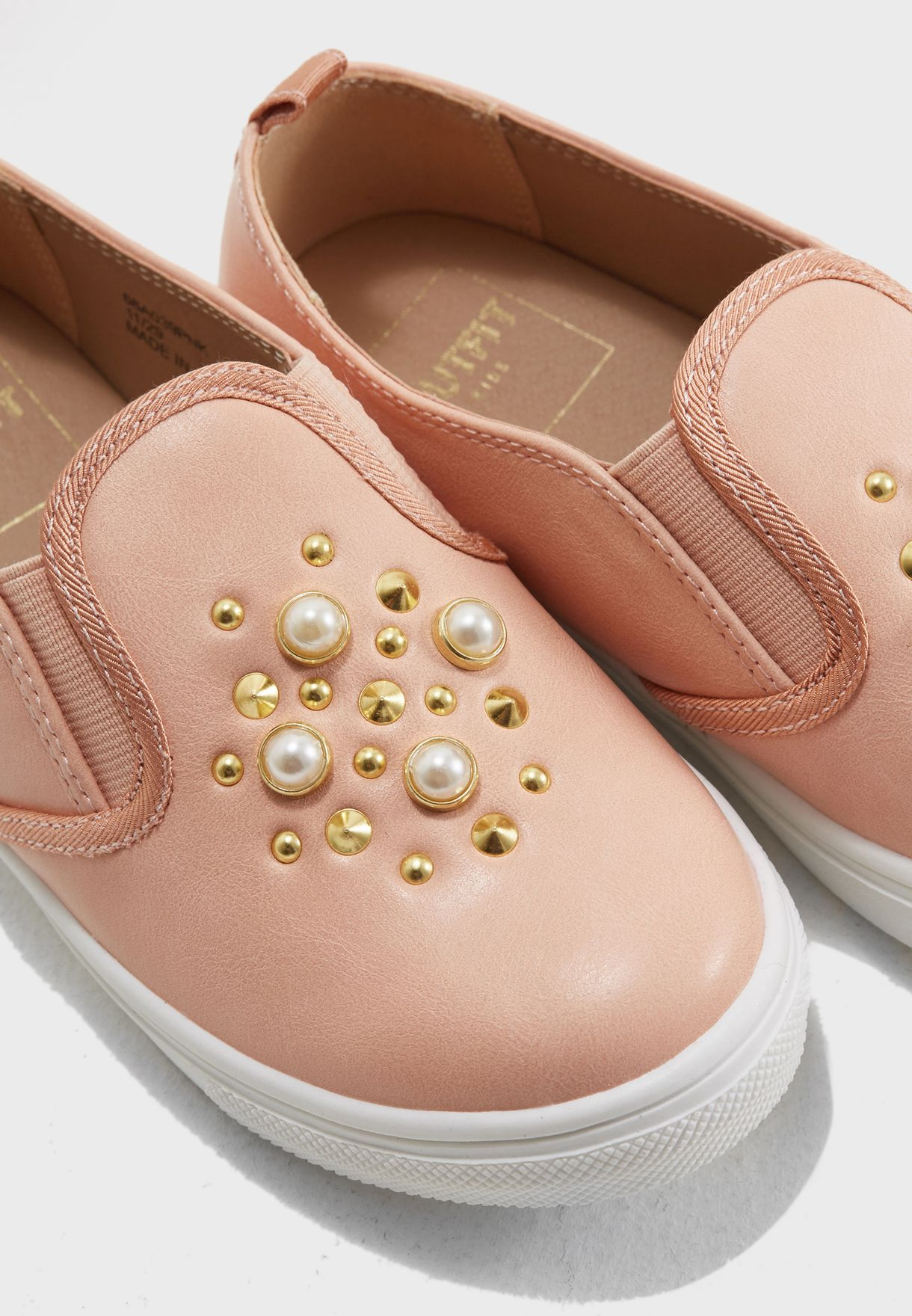 Youth Pearl Detail Slip On