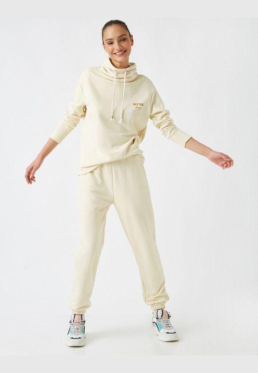 Respect Life | Yaşama Saygı - Cotton Jogger Sweatpants