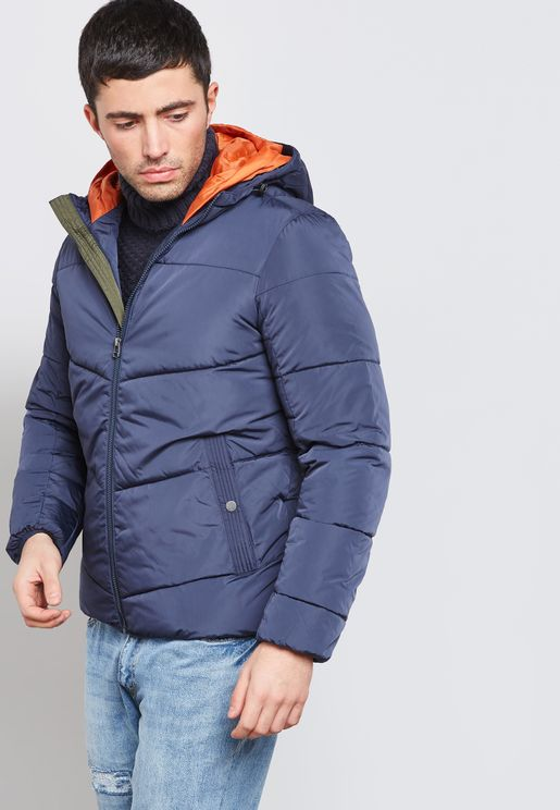 Kant Puffer Hooded Jacket