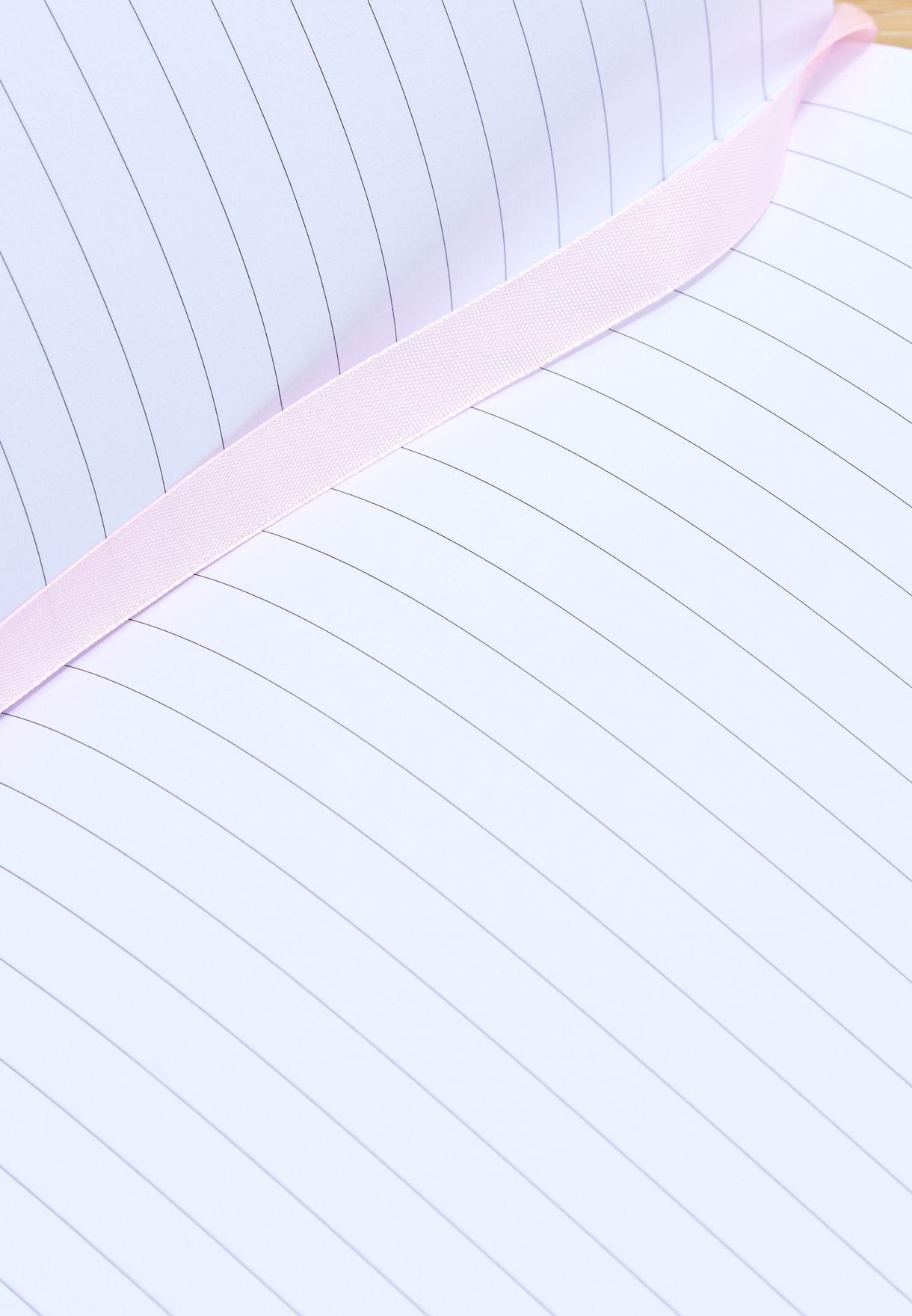 دفتر ملاحظات مونوجرام عربي