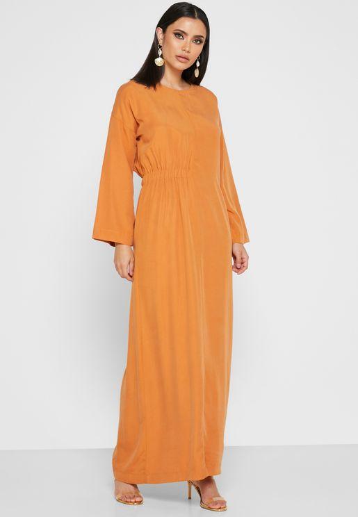 Detailed Waist Dress