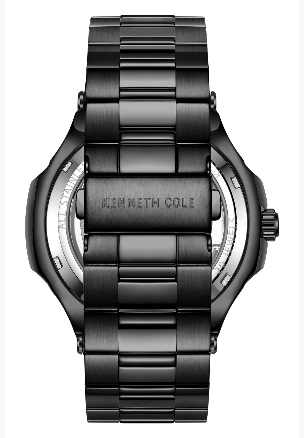 Kenneth Cole Automatic Leather Strap Watch for Men - KC51017007