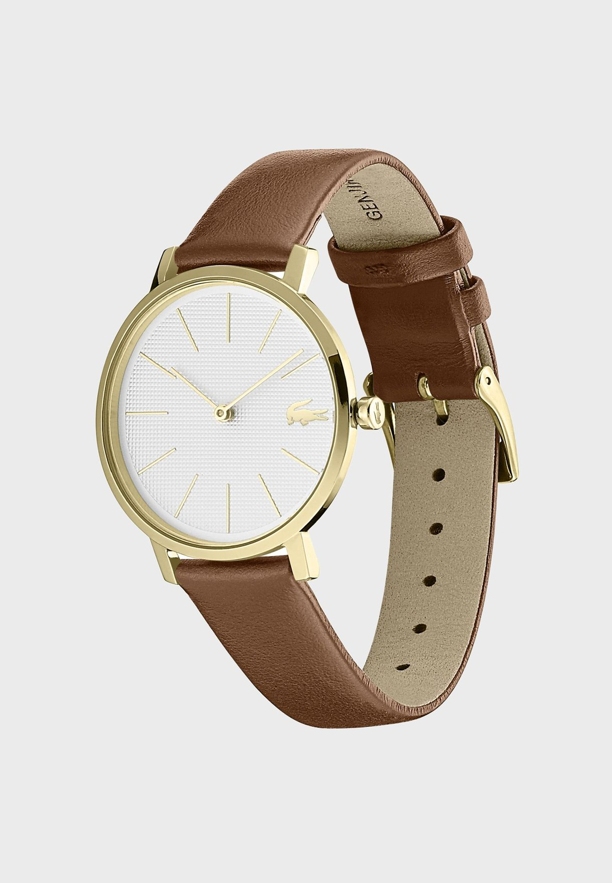 Lacoste MOON Leather Strap Watch for Women - 2001106