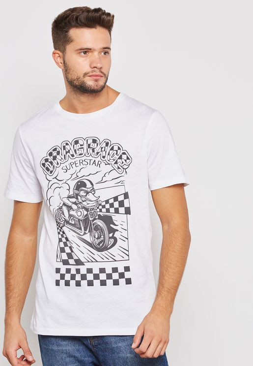 Boozeride Graphic Print T-Shirt