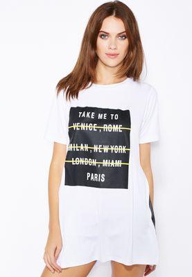 Ginger Slogan T-Shirt