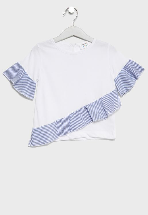 Little Frill Detail Top