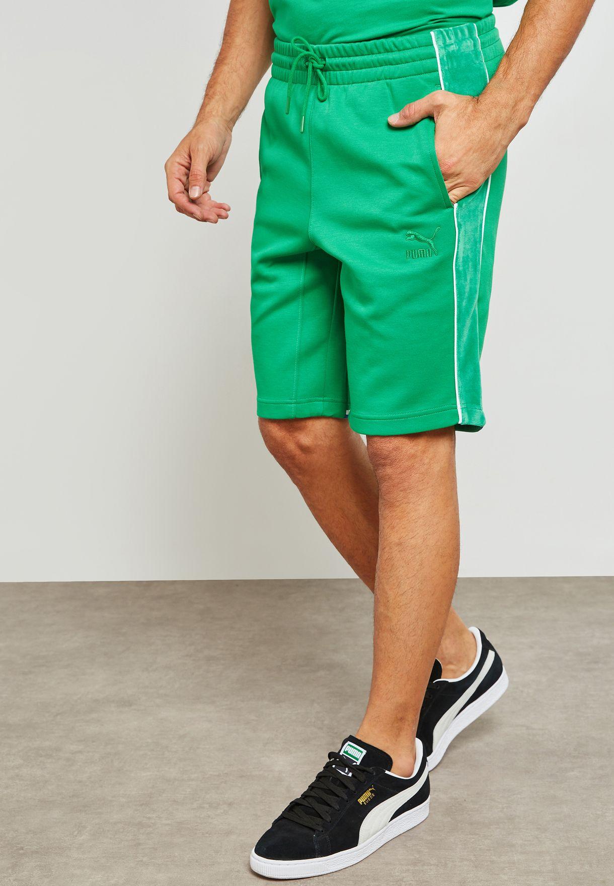 Shop PUMA green Big Sean Shorts 57592883 for Men in Kuwait ... e49a4cd69