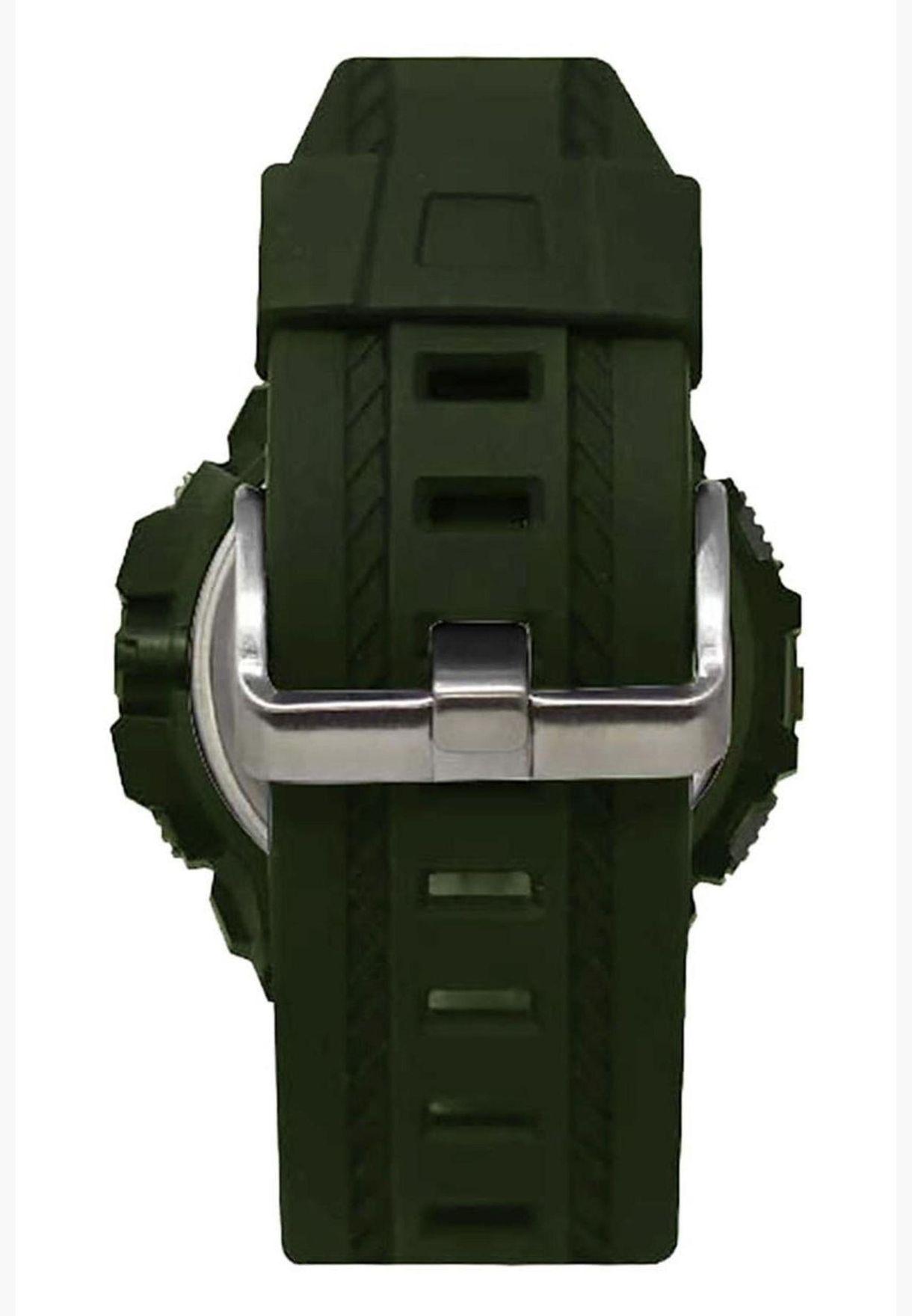 ساعة كات بولت الرقمية بسوار سيليكون للرجال - OA13723343