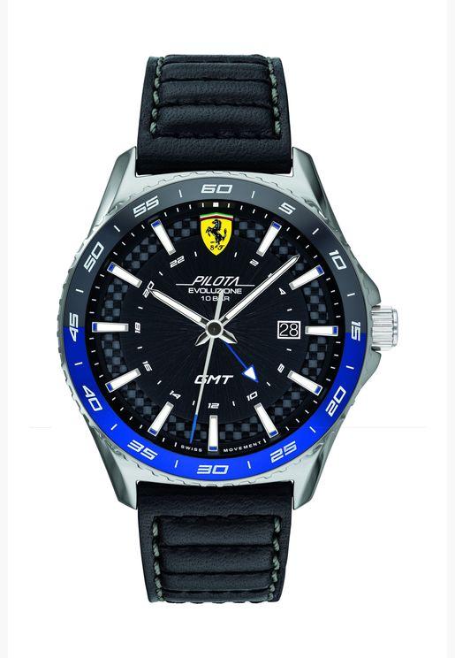 فيراري بيلوتا ايفو ساعة مطاطية للرجال - 830775