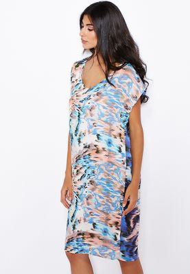 Glamorous V-Neck T-Shirt Dress