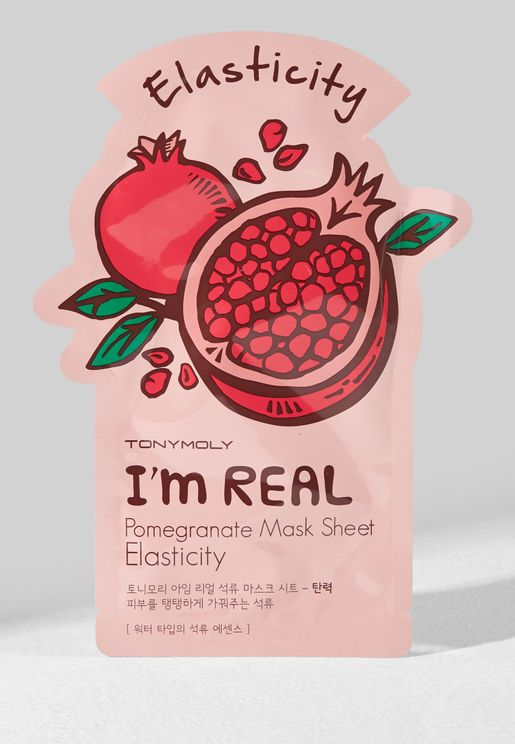 I Am Real Pomegranate Mask Sheet