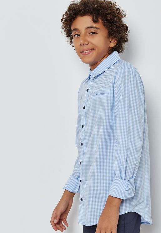 Teen Gingham Shirt