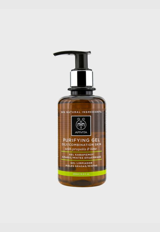 Purifying Gel With Propolis & Lime - For Oily/Combination Skin
