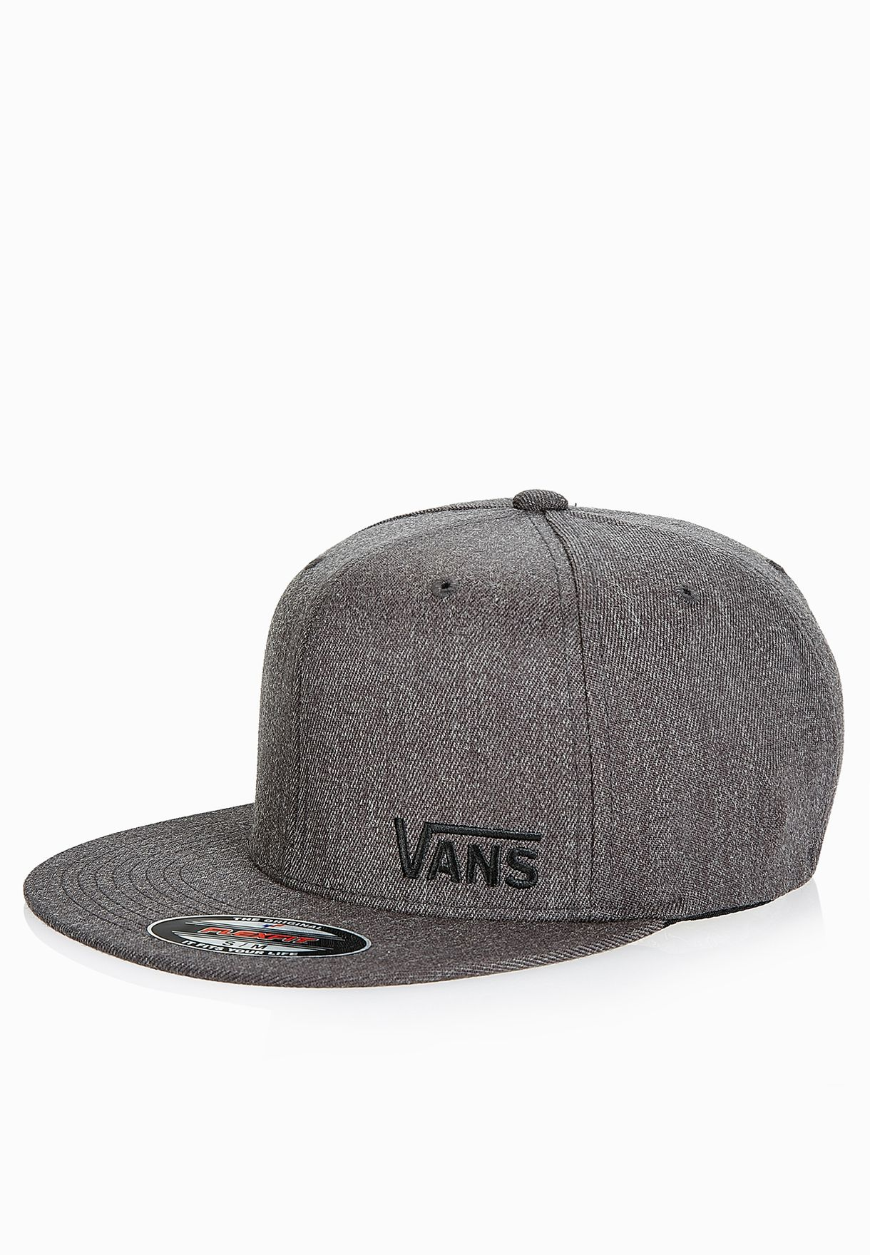 Shop Vans grey Splitz Snapback VAAC-CFKCHH for Men in Qatar - VA088AC08CAH b87c7b738