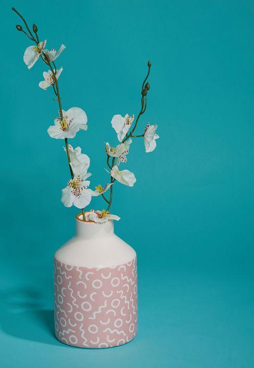 Memphis Print Vase