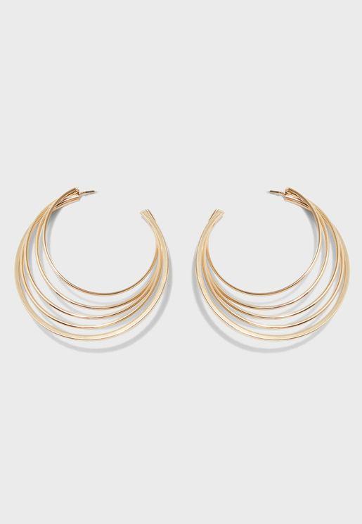 Geinna Hoop Earrings