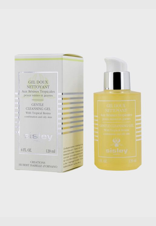 Gentle Cleansing Gel With Tropical Resins - For Combination & Oily Skin