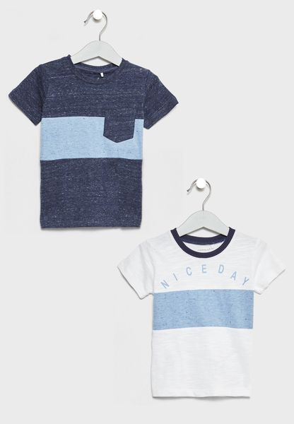 2 Pack Color Block T-Shirt