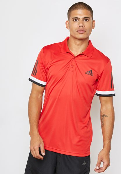 Club 3 Stripe Polo