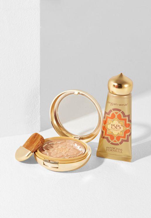 Argan Oil Bronzer + Argan Oil BB Cream Makeup Kit