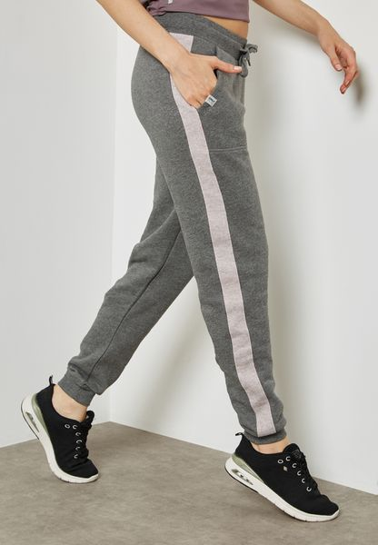 Contrast Striped Sweatpants