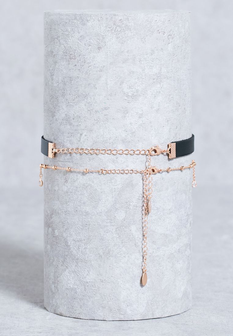 Shop Aldo black Gerran Choker GERRAN   for Women in UAE Next